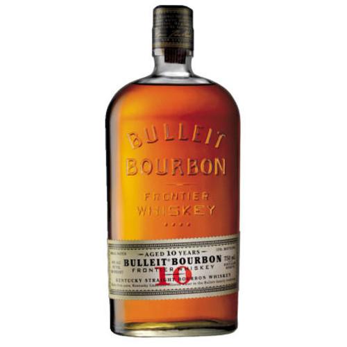 Bulleit 10 Year Old Kentucky Straight Bourbon Frontier Whiskey 750ML