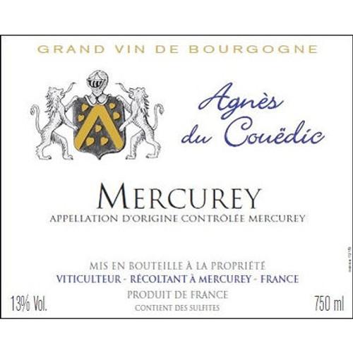 Agnes du Couedic Mercurey AOC Chardonnay