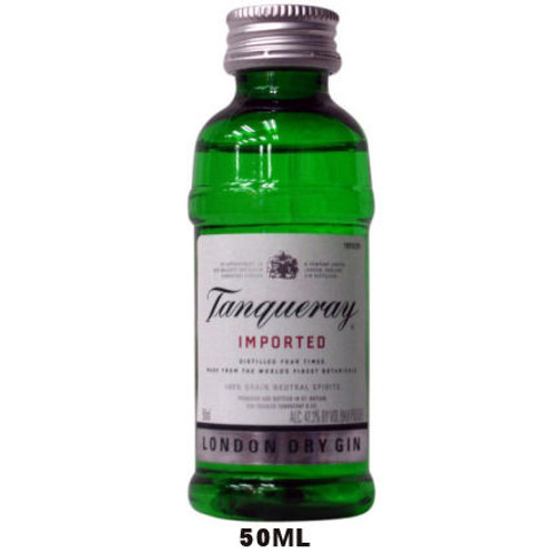 50ml Mini Tanqueray London Dry Gin
