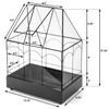 H Potter Glass Terrarium for sale
