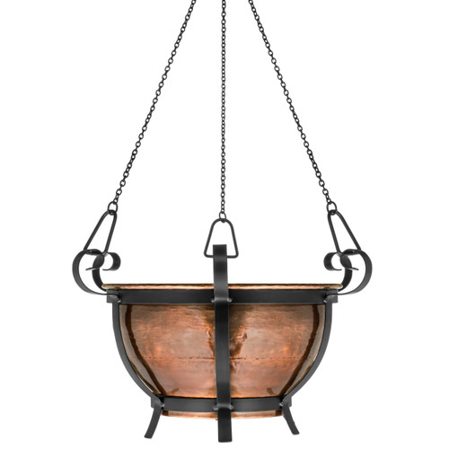 H Potter Patio Hanging Garden Planter