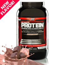 Three kinds of protein for ultimate effectiveness. New chocolate flavor is said to be the best in the industry!