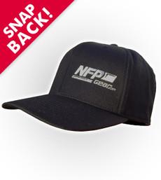NFP Logo Snapback Hat - Black