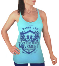 NFP Movement Racer-Back Tank - Blue