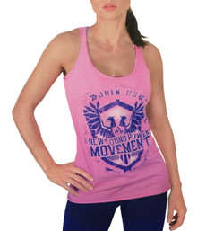 NFP Movement Racer-Back Tank - Pink
