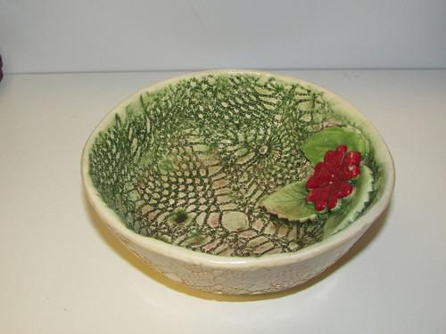 Rustic Ceramic bowl , Dessert bowl  Unique Serving bowl