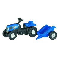 Rolly Kid New Holland Tractor and Trailer (013074)