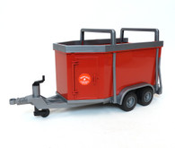 Bruder Cattle Trailer with Cow (02029)