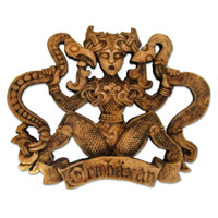 Ormhaxan Plaque by Dryad Designs