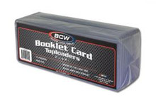 "BCW 7 3/8"" x 2 1/2"" Booklet Card Toploaders 10 Pack"