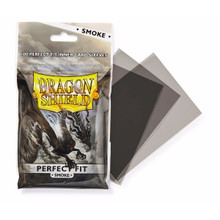 Dragon Shield Perfect Fit Inner Card Sleeves Smoke