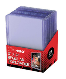 Ultra Pro Stor Safe 3x4 Regular Top Loaders 25 Pack