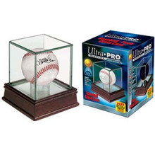 Ultra Pro Premium Glass Display Baseball or Puck Holder