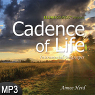MP3 Music (DOWNLOAD ITEM) - Cadence of Life: Instrumental Songscapes -- by Aimee Herd (ELIJAHSounds)