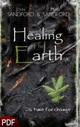 PDF E-Book (DOWNLOAD ITEM) - Healing the Earth: a time for change -- by John Sandford and Mark Sandford