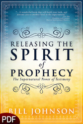 PDF E-Book (DOWNLOAD ITEM) - Releasing the Spirit of Prophecy -- by Bill Johnson
