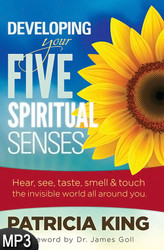 MP3 Audio Book (DOWNLOAD ITEM) - Developing Your Five Spiritual Senses -- by Patricia King