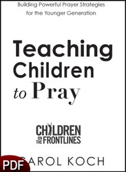 PDF E-Book (DOWNLOAD ITEM) - Teaching Children to Pray -- by Carol Kock