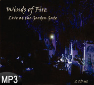 MP3 Music (DOWNLOAD ITEM) - Winds of Fire: Live At The Garden Gate (2 CDs) -- by Virginia Killingsworth