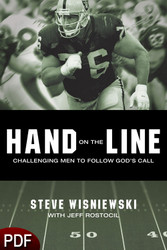 PDF E-Book (DOWNLOAD ITEM) - Hand on the Line: Challenging Men to Follow God's Call -- by Steve Wisniewski