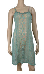 pretty angel Aqua Sheer Two Tone Tunic