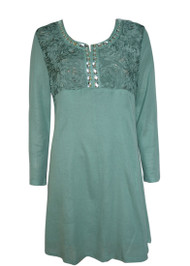 pretty angel Aqua Silk Blend Tunic