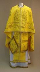 Greek Priest's Vestments: Gold #4 - 52/140