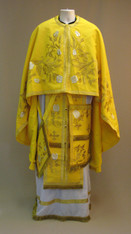 Greek Priest's Vestments: Gold #7 - 54/130