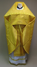 Russian Priest's Vestments: Gold #7 - 52-54/150 cm
