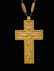 Wood Pectoral Cross #5