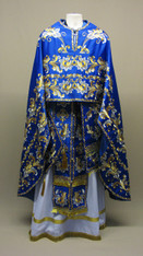 Greek Priest's Vestments: Blue #6 - 50-54/146