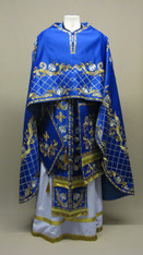 Greek Priest's Vestments: Blue #7 - 48-52/140