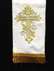Large Gospel/Epistle Marker - White #3