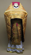 Russian Priest's Vestments: Gold #12 - 54/150 cm