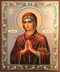 Softener of Evil Hearts Theotokos (Mounted)