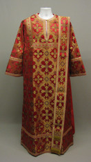 Deacon's Vestments: Red #6 - 48 / 150