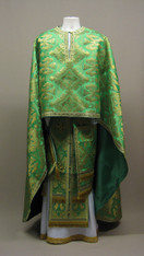 Greek Priest's Vestments: Green #9 - 52/155