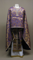 Greek Priest's Vestments: Purple #1 - 50/150