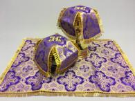 Aer and Chalice Veil Set - Purple #4