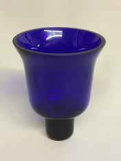Blue Votive Glass #5