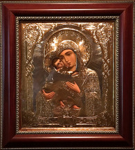 Vladimir Mother of God Icon (Handpainted)