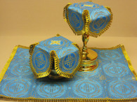 Aer and Chalice Veil Set - Blue #8