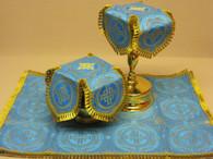 Aer and Chalice Veil Set - Blue #8