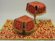 Aer and Chalice Veil Set - Red #7