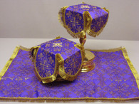 Aer and Chalice Veil Set - Purple #5
