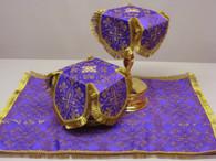 Aer and Chalice Veil Set - Purple #5