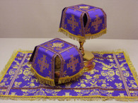 Aer and Chalice Veil Set - Purple #6