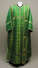 Deacon's Vestments: Green #6 - 52-54 / 150