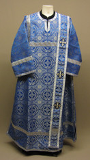 Deacon's Vestments: Blue #5 - 46-48 / 145