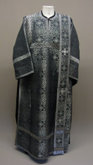Deacon's Vestments: Black #4 - 52-54 / 150